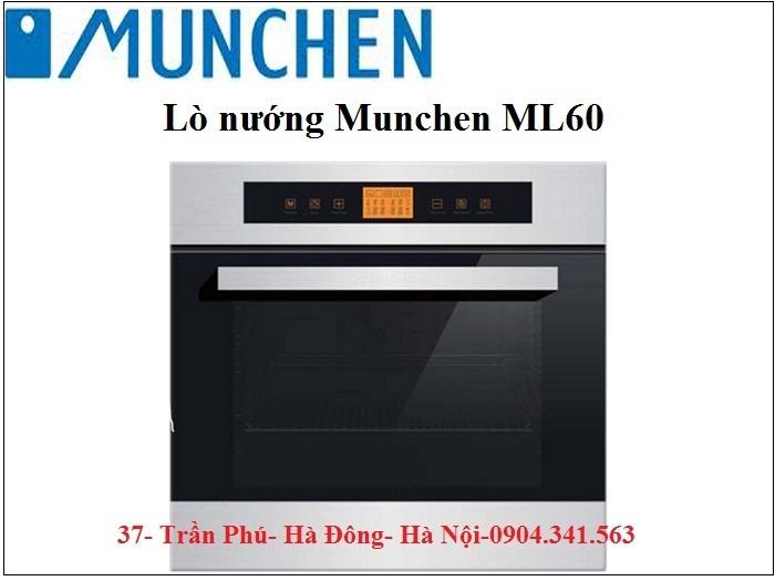 Lựa chọn hoàn hảo với lò nướng Munchen ML60