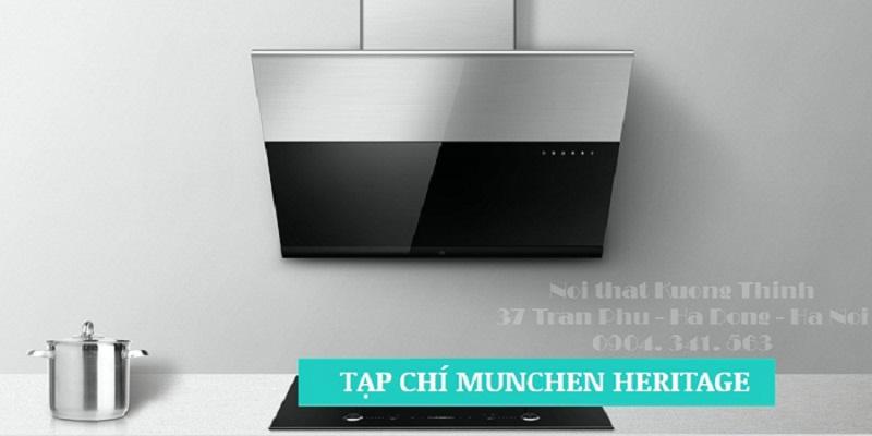 Máy hút mùi Munchen xuất xứ từ Châu Âu