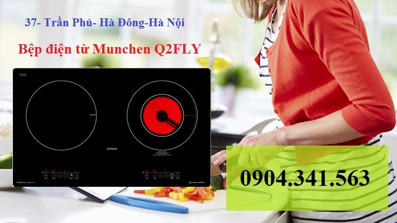 Bếp điện từ Munchen tiết kiệm năng lượng