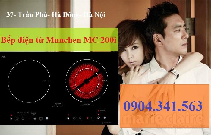 Sử dụng bếp điện từ Munchen an toàn tuyệt đối