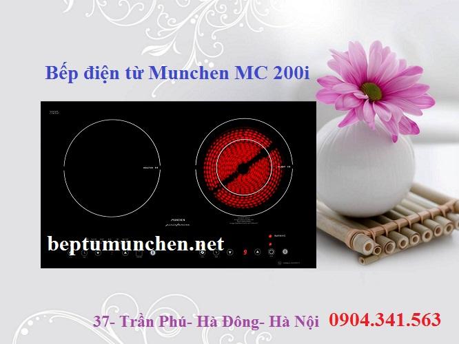 Bếp điện từ Munchen mang ưu thế vượt trội