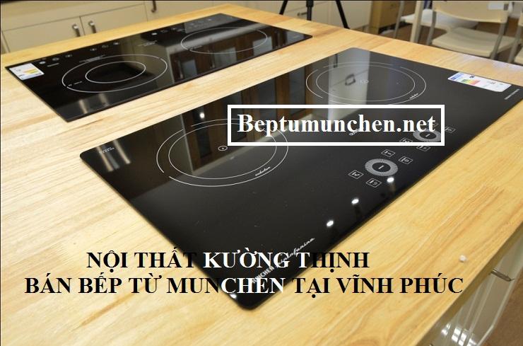 Nhiều mẫu bếp từ Munchen được trưng bày tại showroom