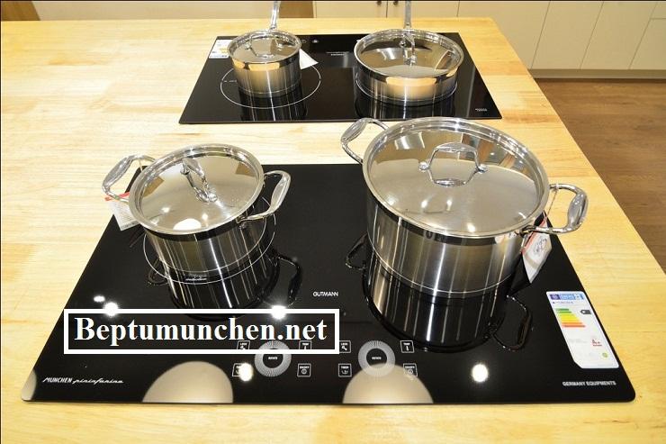 Mua bếp từ Munchen G60 được tặng thêm bộ nồi Đức