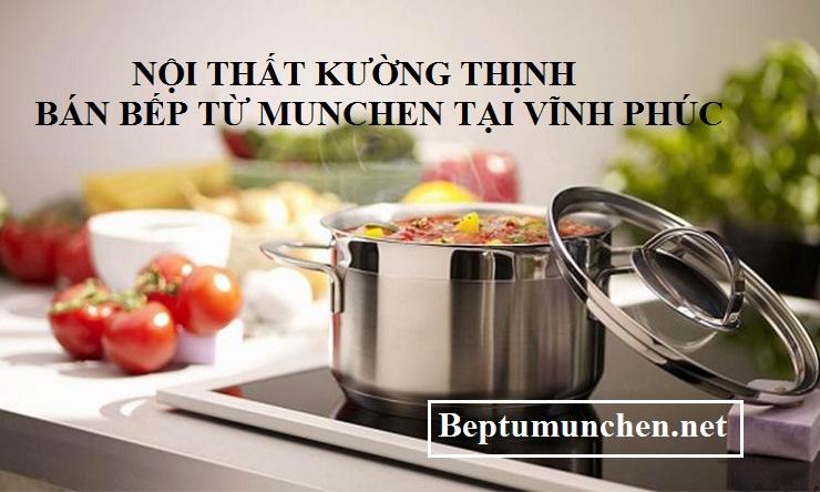 Nấu ăn an toàn với bếp từ Munchen