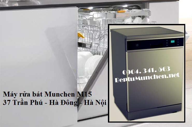 Máy rửa bát Munchen M15 thế hệ mới
