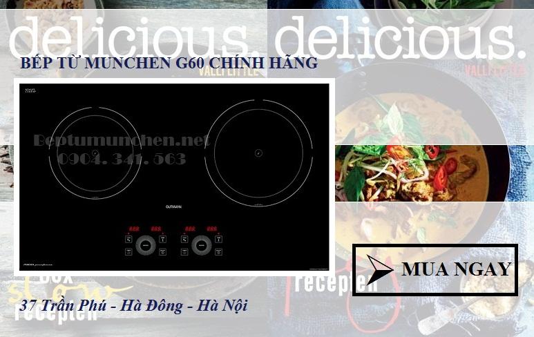 Bác Quỳnh mua bếp từ Munchen G60 tại Nội thất Kường Thịnh
