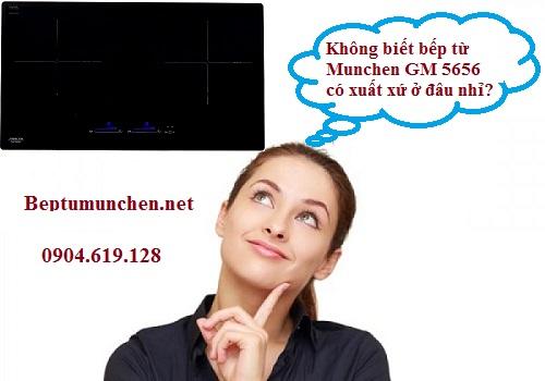 Xuất xứ của bếp từ Munchen GM 5656