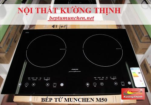 Các lỗi thường gặp khi sử dụng bếp từ Munchen M50