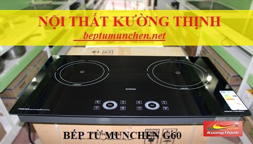 Đại lý bán bếp từ Munchen G60 chính hãng