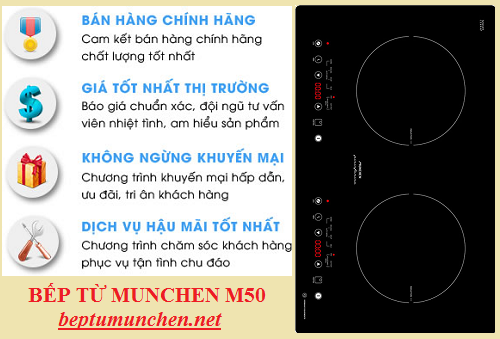 Mua bếp từ Munchen M50 nhập khẩu ở đâu?