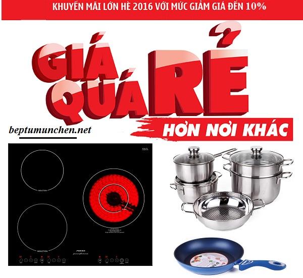 Khuyến mãi bếp điện từ Munchen QA 300I