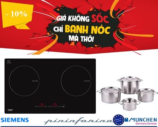 Khuyến mãi bếp từ Munchen GM 8999
