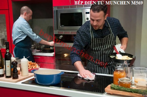Hướng dẫn sử dụng bếp điện từ Munchen M569 an toàn