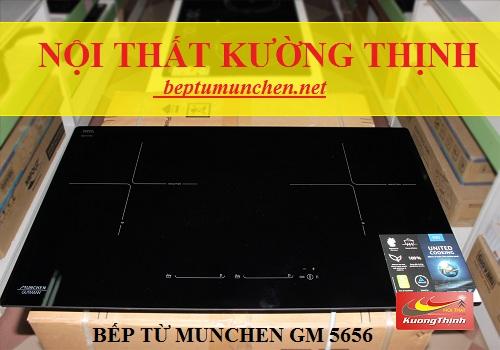 2 công nghệ mới nhất trên bếp từ Munchen GM 5656