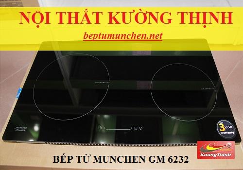 Bếp từ Munchen GM 6232 xuất xứ ở đâu?