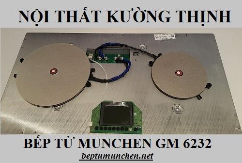 Cấu tạo của bếp từ Munchen GM 6232