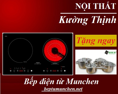 Bếp điện từ Munchen tưng bừng giảm giá