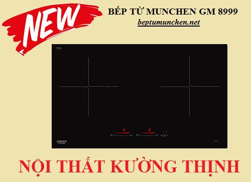 Bếp từ Munchen GM 8999 bước đột phá từ thiết kế đến tính năng