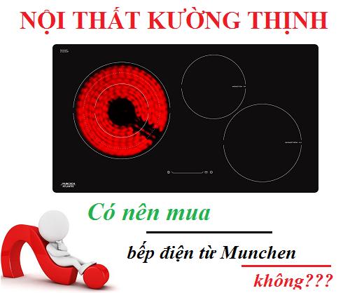 Có nên mua bếp điện từ Munchen không?