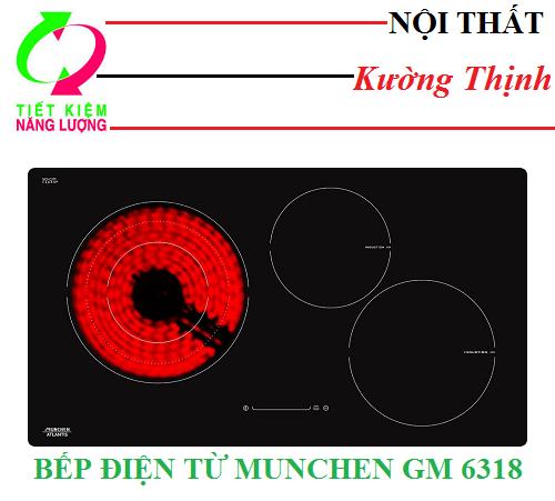 Dùng bếp điện từ Munchen GM 6318 có tốn điện không?