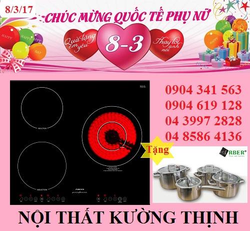Bếp điện từ Munchen QA 300I tưng bừng chào đón 8/3
