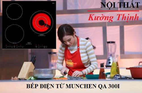 Đánh giá tính năng của bếp điện từ Munchen QA 300I