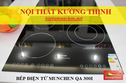 Mẹo giúp phân biệt bếp điện từ Munchen QA 300I thật và giả
