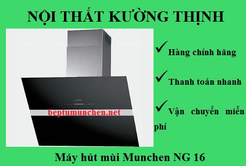 Thiết kế mới lạ của máy hút mùi Munchen NG 16