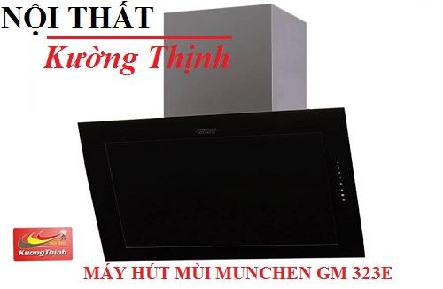 Khám phá thiết kế mới lạ của máy hút mùi Munchen GM 323E