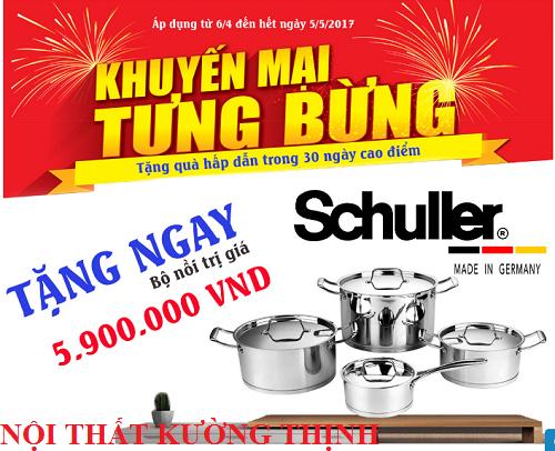 Khuyến mãi bếp điện từ Munchen và nhận quà lớn