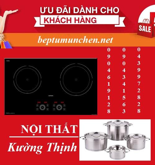 Sắm bếp từ Munchen G60 với giá ưu đãi cực khủng