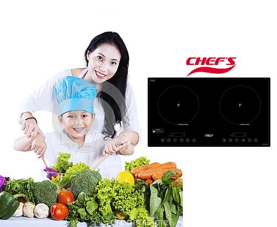 Bếp điện từ Chefs: Dụng cụ tiện ích cho gian bếp của bạn