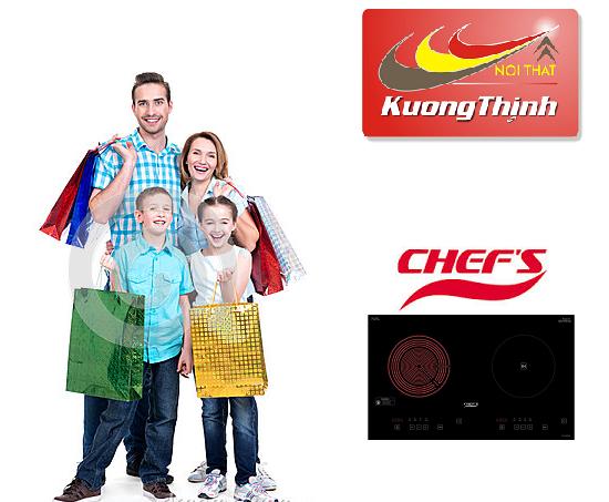 Đại lý bán bếp điện từ Chefs giá rẻ