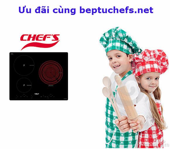 Đại lý bếp điện từ chefs giảm giá lớn