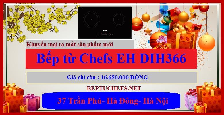 Bếp từ CHefs EH DIH366 có giá khuyến mại hấp dẫn