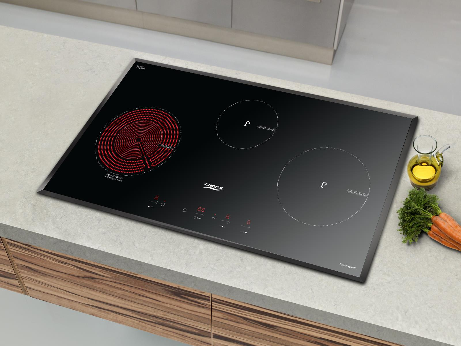 Bếp điện từ Chefs EH MIX544P: làn gió mới cho dòng bếp Tây Ban Nha