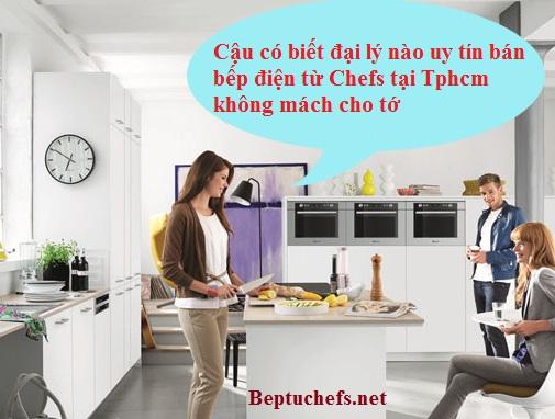 Đại lý uy tín bán bếp điện từ Chefs tphcm