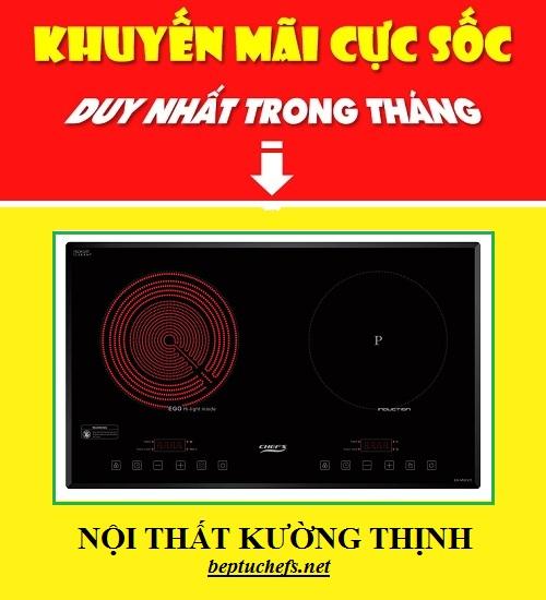 Bếp điện từ Chefs EH MIX321 giảm giá tri ân khách hàng