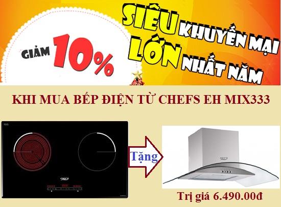 Bếp điện từ Chefs EH MIX333 đại hạ giá siêu khủng