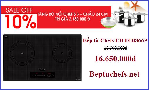 Bếp từ Chefs EH DIH366P bất ngờ giảm giá khủng