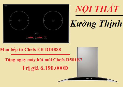Bếp từ Chefs EH DIH888 tưng bừng khuyến mại lớn