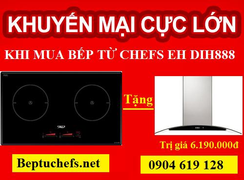 Nội Thất Kường Thịnh giảm giá sốc khi mua bếp từ Chefs EH DIH888