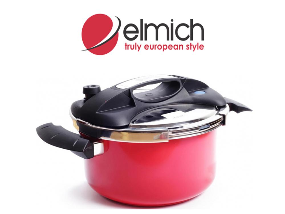 Nồi áp suất inox 304 Elmich 6l giúp chị em nấu ăn nhanh hơn