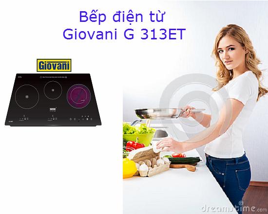 5 lý do bạn nên chon mua bếp điện từ Giovani G 313ET