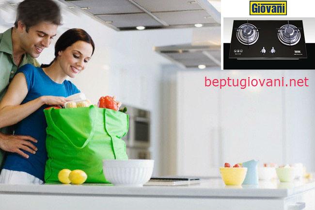 Thiết kế đầy ấn tượng của bếp ga Giovani G 102SBT