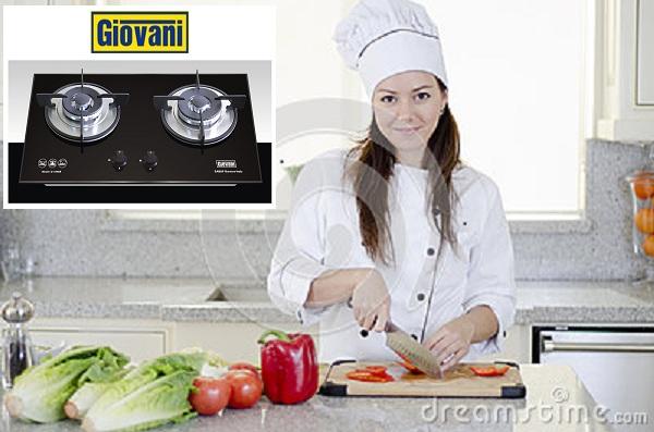 Nhiều tiện ích tuyệt đỉnh của bếp ga Giovani G 109SB
