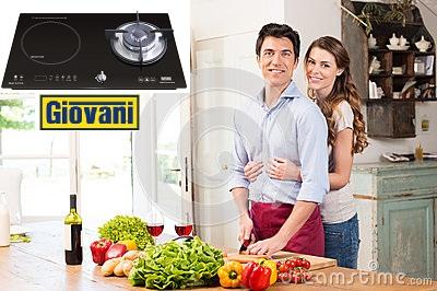Bếp ga từ Giovani G 212IG sản phẩm chinh phục mọi thử thách