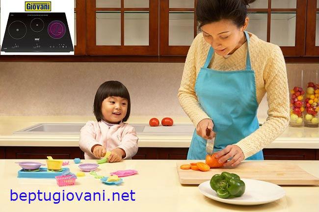 Hướng dẫn sử dụng nâng cao tuổi thọ cho bếp điện từ Giovani