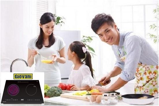 Hướng dẫn sử dụng bếp điện từ Giovani tiết kiệm điện