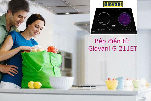 Lý do bạn nên sử dụng bếp điện từ Giovani G 211ET